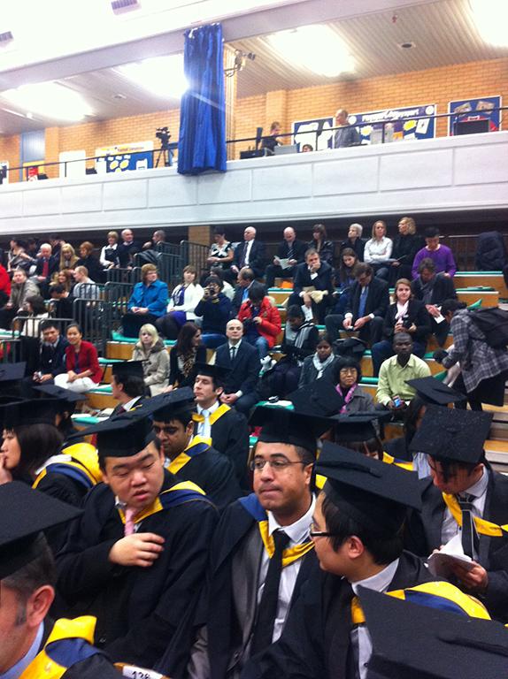 University of South Wales, Graduation ceremony image-2
