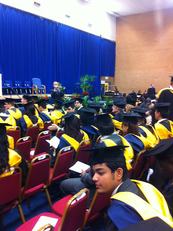 University of South Wales, Graduation ceremony image-3